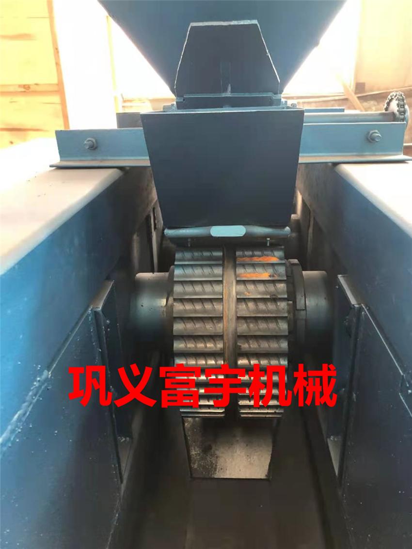 铁粉压钢筋头机